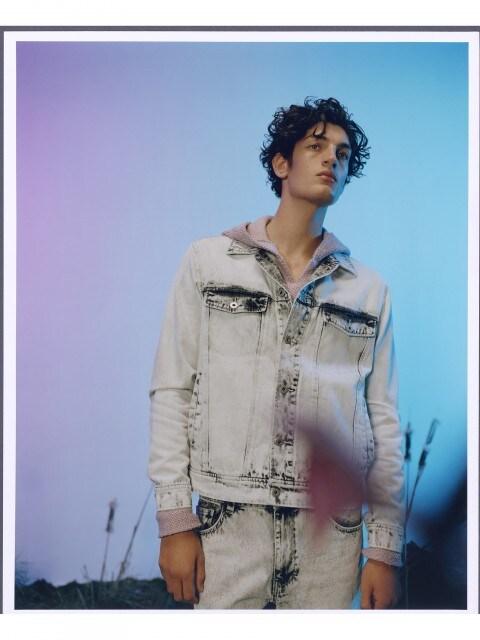 Wash effect jacket