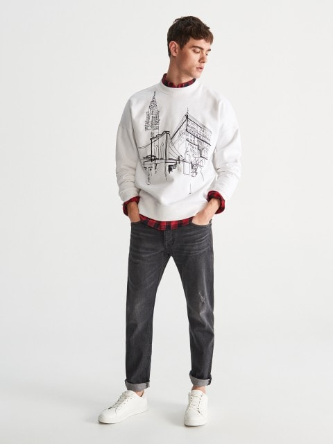 Džemperis ar izšuvumu
