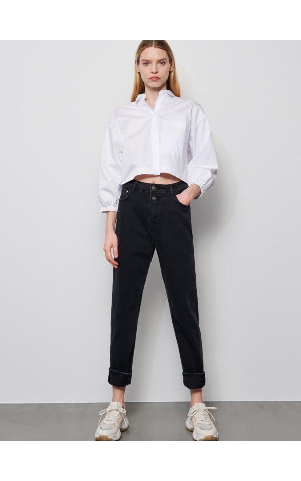 Iegādājieties tiešsaistē Krekls ar platām piedurknēm, RESERVED, YG791-00X