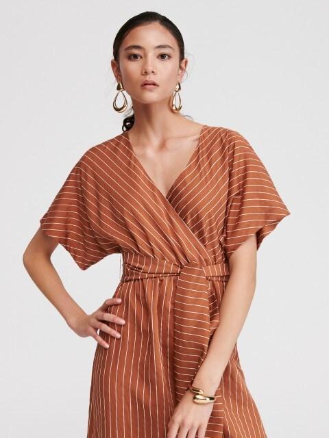 Svītraina kleita