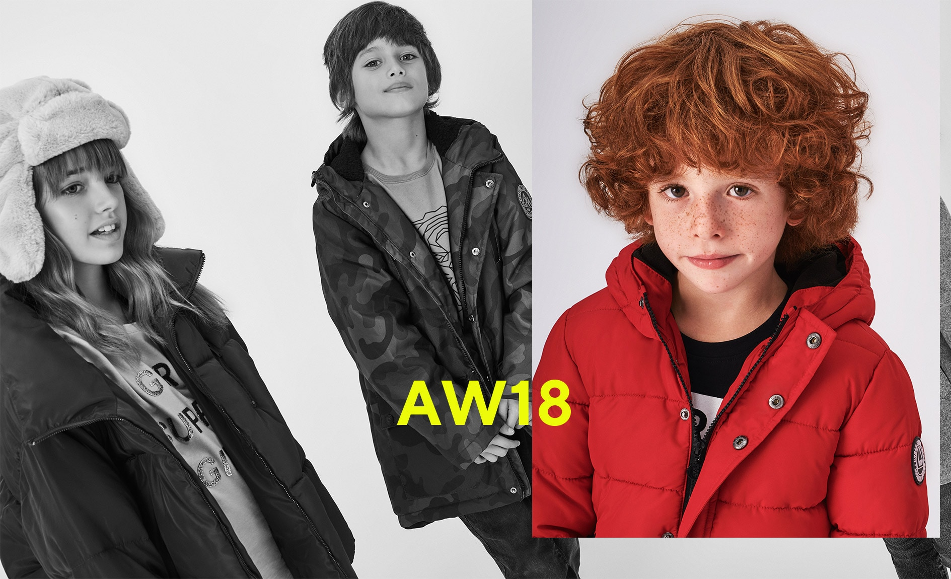 Reserved AW18 Outerwear Kids