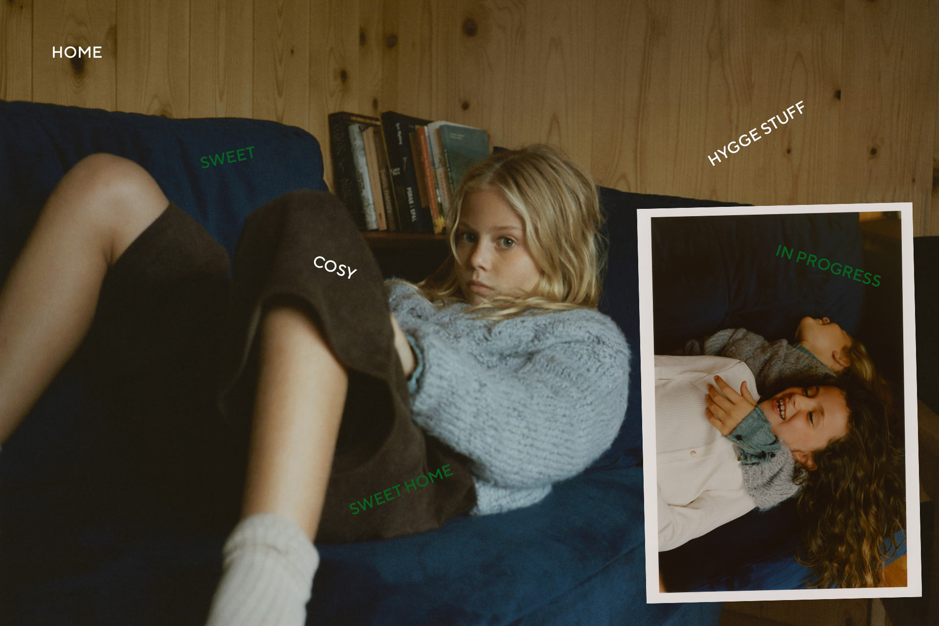 Cosy Cosier Cosiest Reserved Kids Lookbook