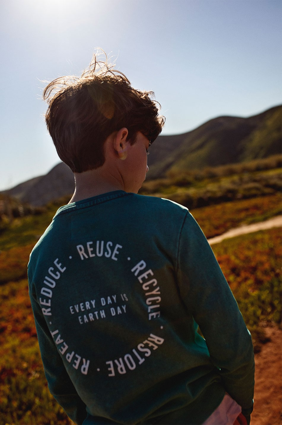 Reserved Kids Collection - Boy Green adventure