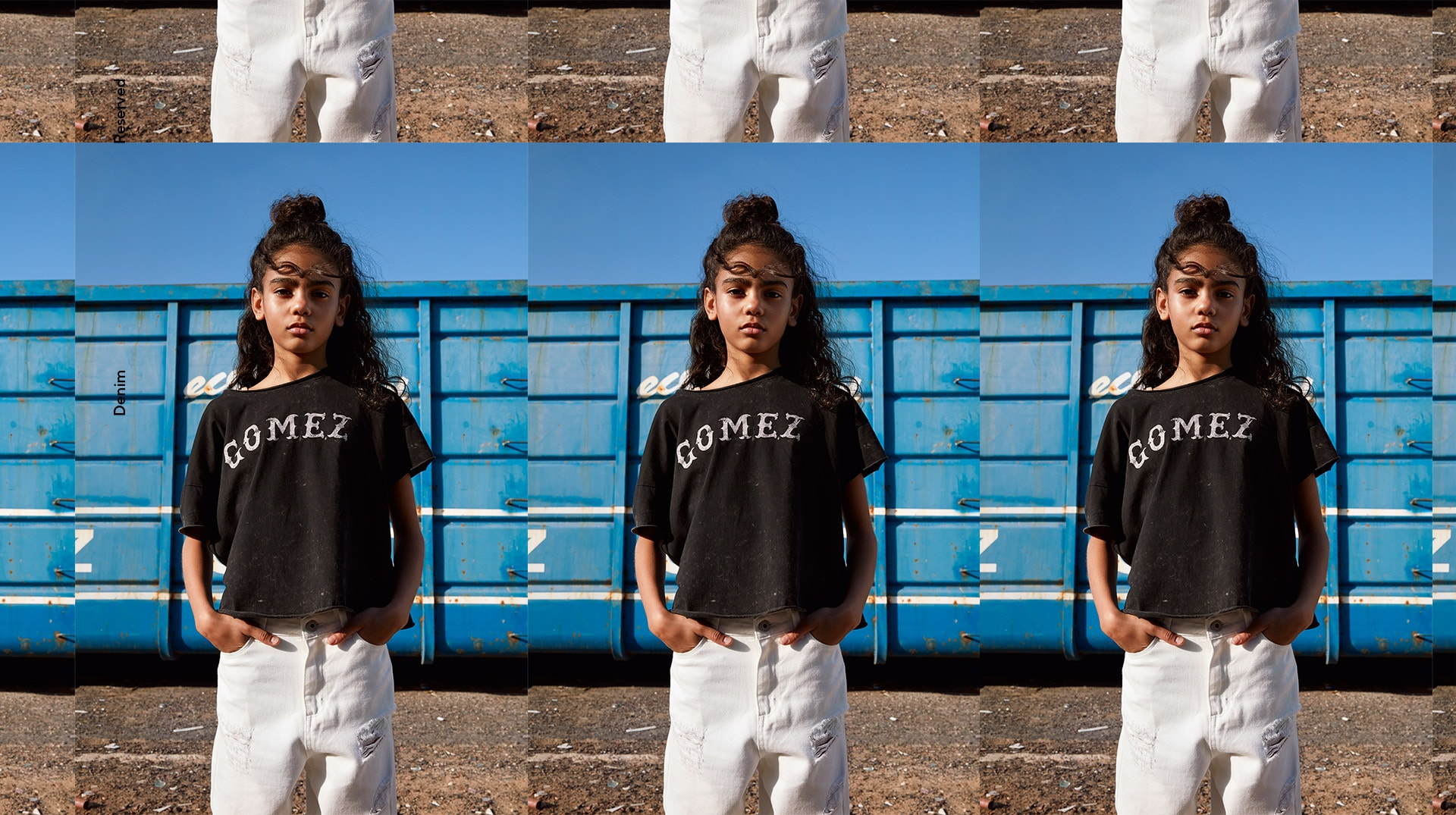 Reserved Kids Girl Denim SS19
