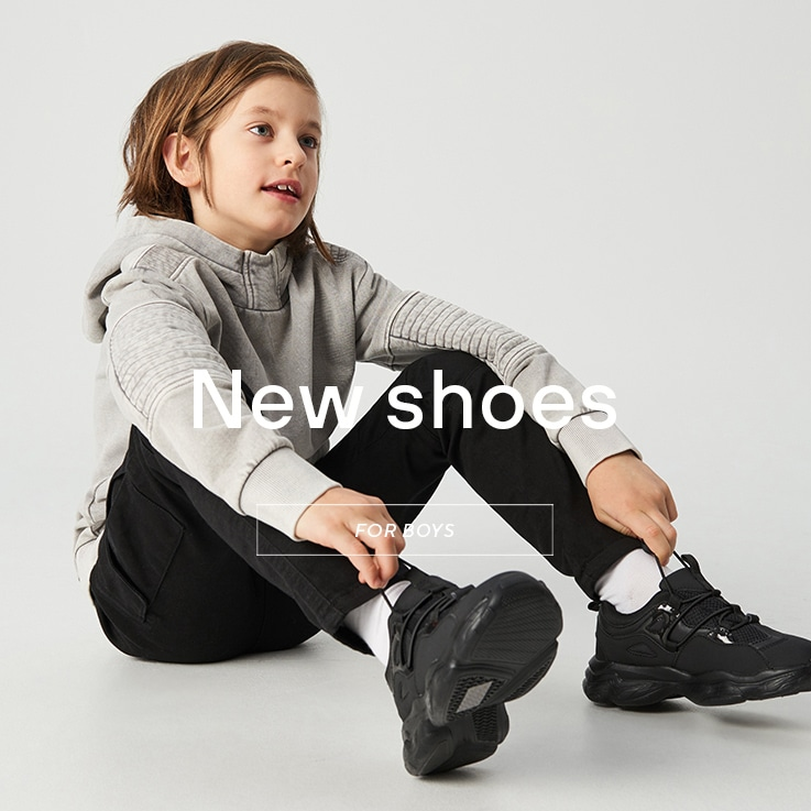 Shoes for long and short distances! Comfortable while playing outside! See the SS20 Collection for BOYS