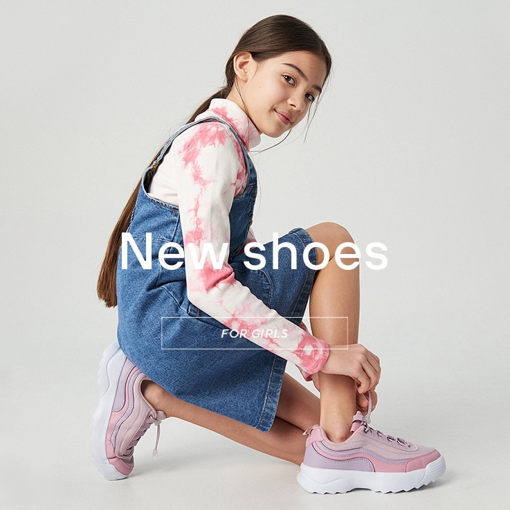 Shoes for long and short distances! Comfortable while playing outside! See the SS20 Collection for GIRLS