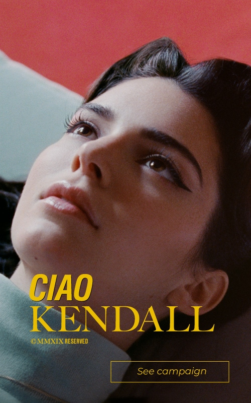 CIAO! New Capmain Kendall Jenner for Reserved.