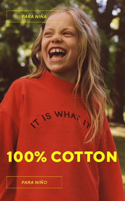 Comfortable and healthy - outfits for girls made in 100% from cotton