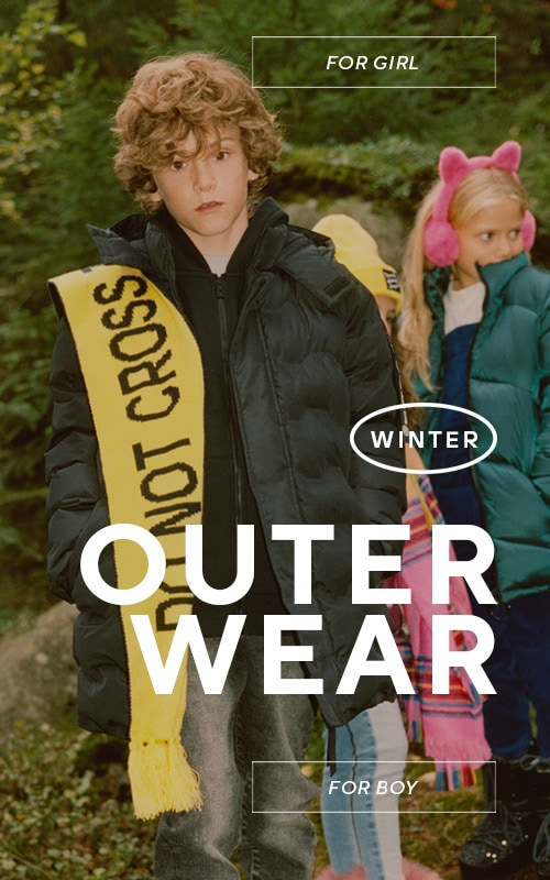 Outerwear for kids that want to fell comfortable while playing outside! See the AW19 Collection