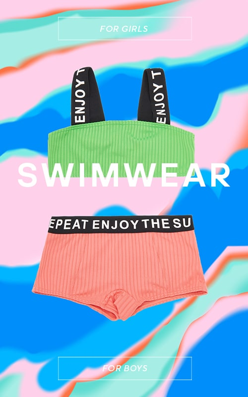 Water, sand, sunny - it's time for swimwear party!