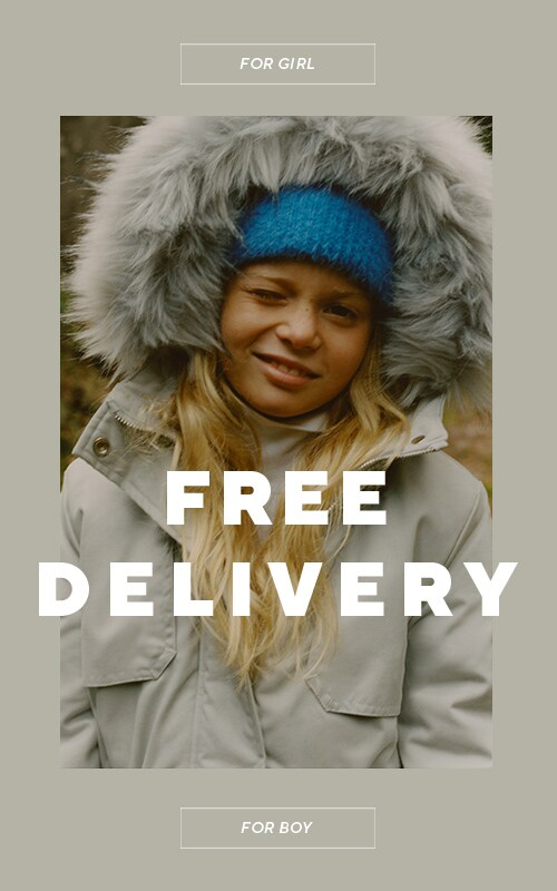 Your orders for Xmas presents will be delivered for free!