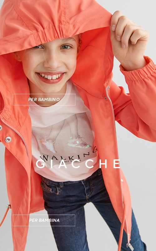 Colorful, functional jackets ideal for spring - KIDS - RESERVED