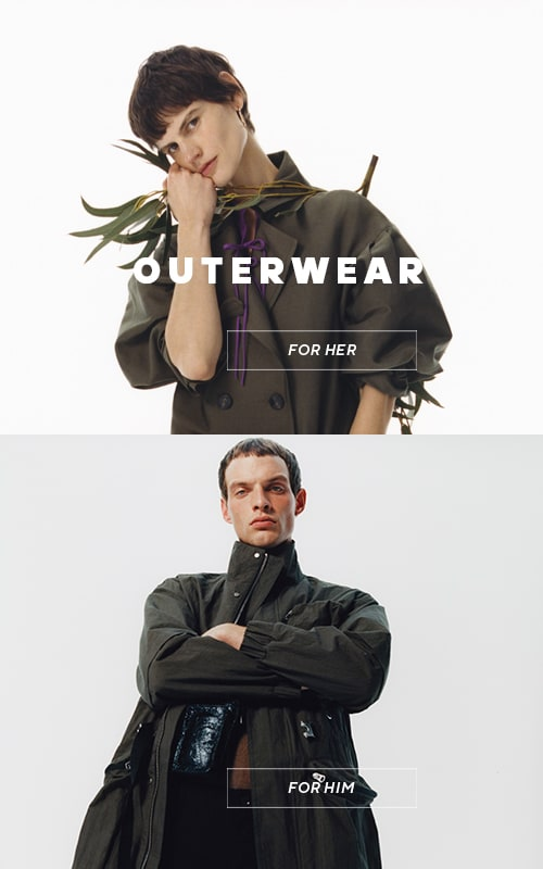 New spring outerwear collection for women and men - RESERVED