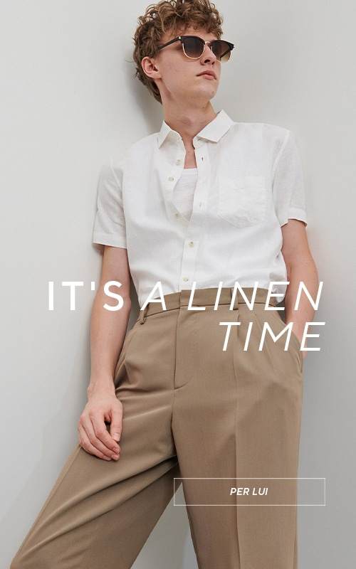 It's time for linen - Collection for Men - RESERVED