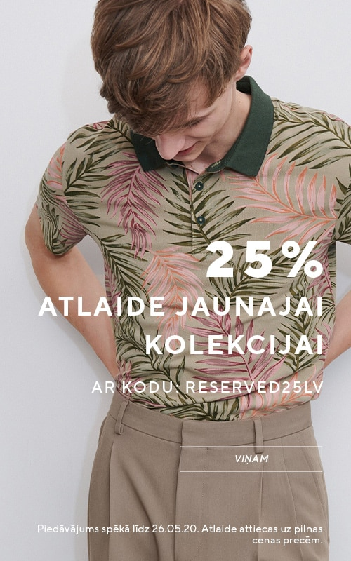 -25% for New Collection. Use CODE and get your discount- RESERVED