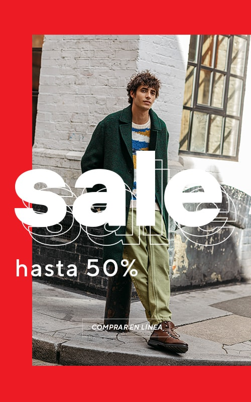 Sale up to 50% off - chance to fill your wardrobe cheaper. Collection for MEN