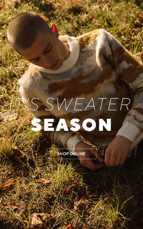 It's sweaters weather! Check it out!