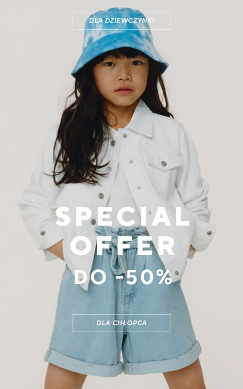 Special Offer up to -50% for selected items - RESERVED