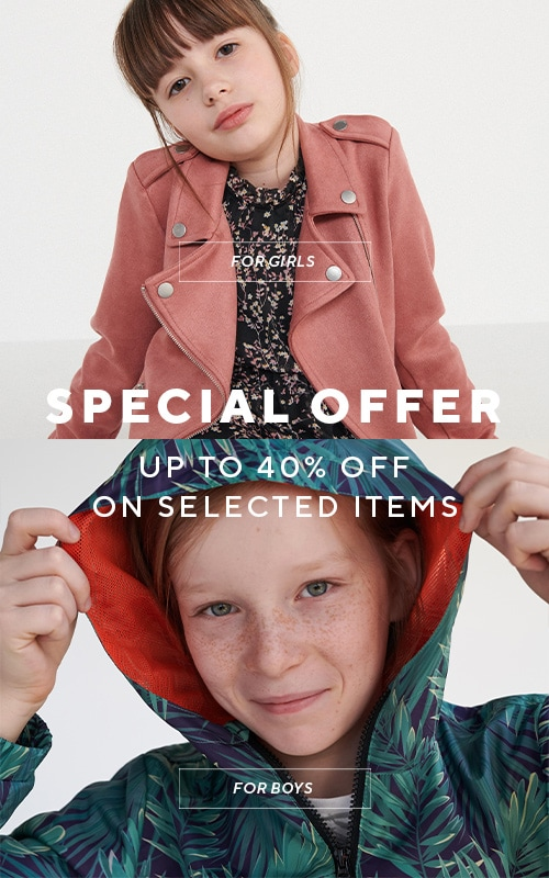 Special Offer up to -40% for selected items - RESERVED