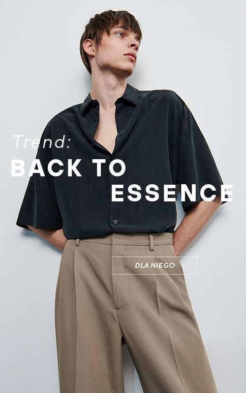 New spring trend for him - Back to essence - RESERVED