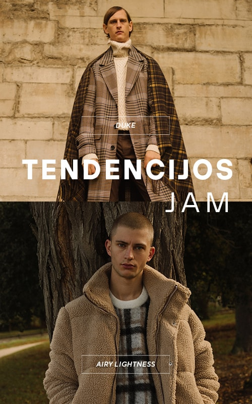 New Autumn Trends for men - Duke and Airy Lightness