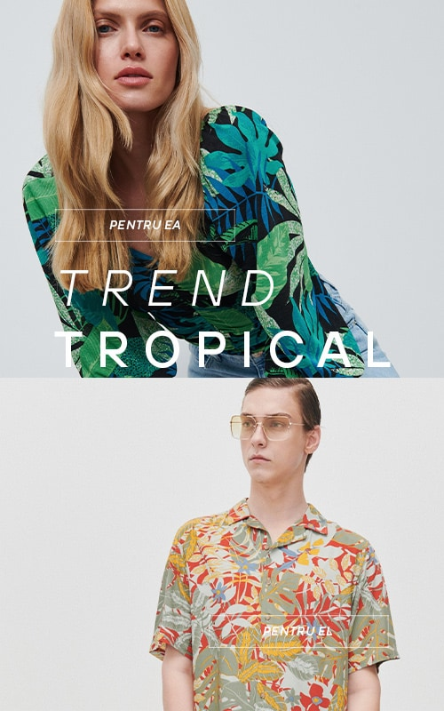 Tropical Jungle prints, flowers and cotton - New Trends - RESERVED