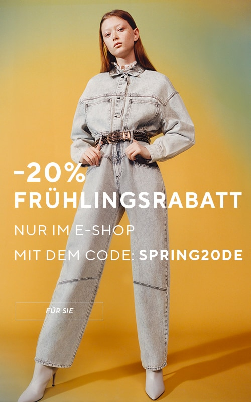 Take your chance of 20% off on spring sale