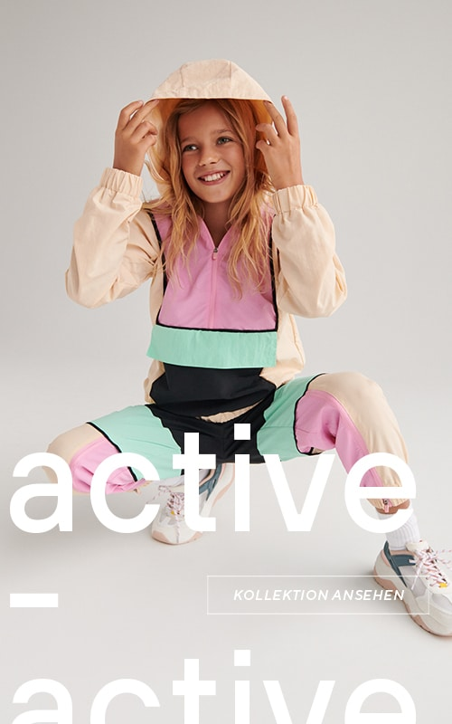 Be Active collection - outfits for active girls and boys