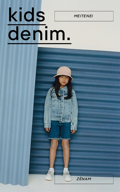 Denim! never out of trends! Check out girls and boys summer collection