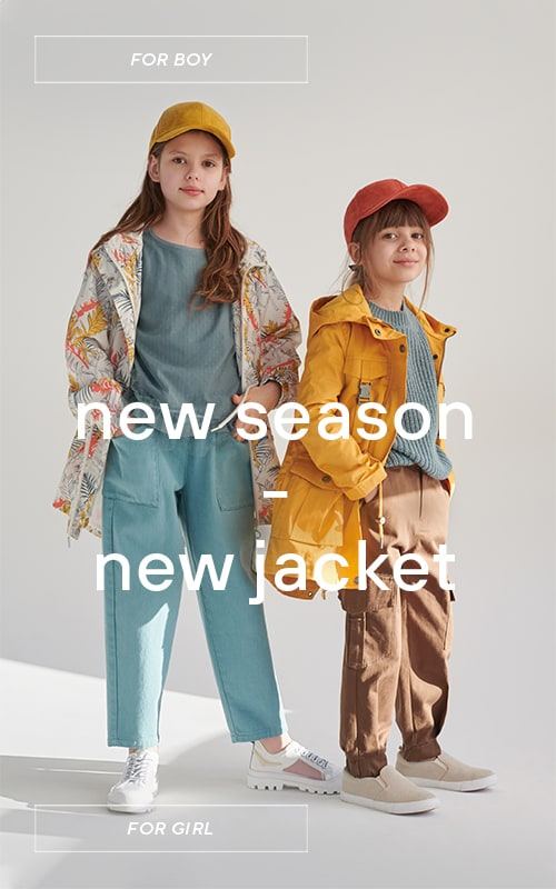 New spring outerwear collection for girls and boys - RESERVED