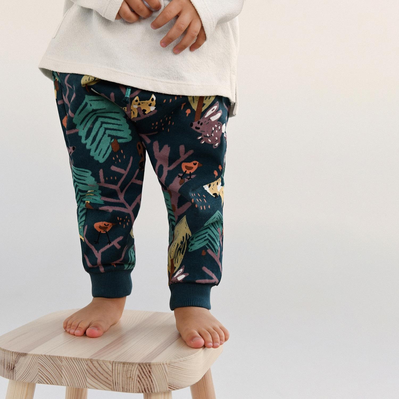 Reserved - Boys` trousers - Modrá