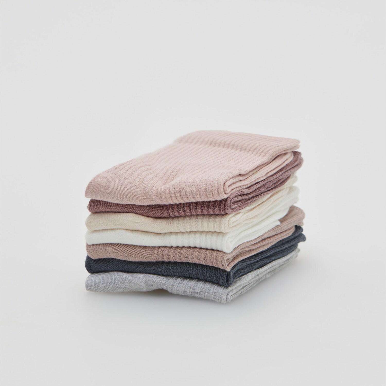 Reserved - Ladies` socks - Růžová