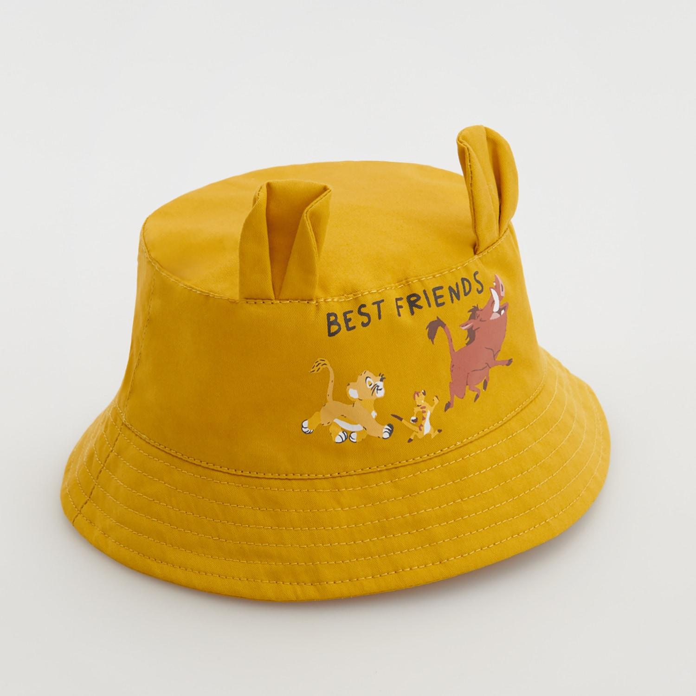 Reserved - Klobúk typu bucket The Lion King - Žltá