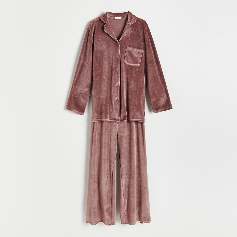 Reserved - Ladies` pyjama - Hnědá