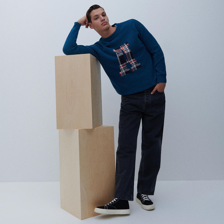 Reserved - Men`s jeans trousers - Šedá