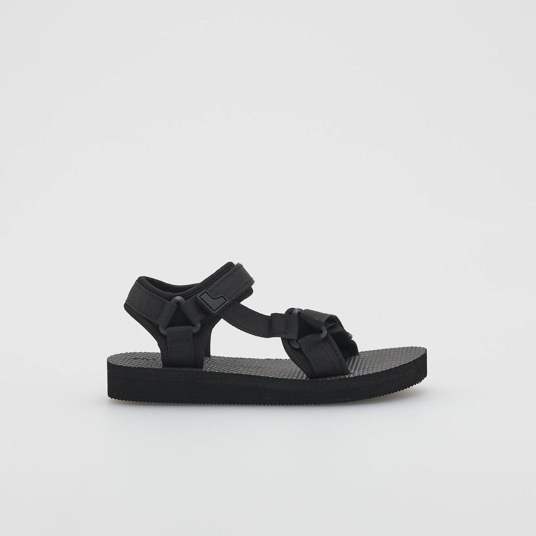 Reserved - Boys` sandals - Čierna