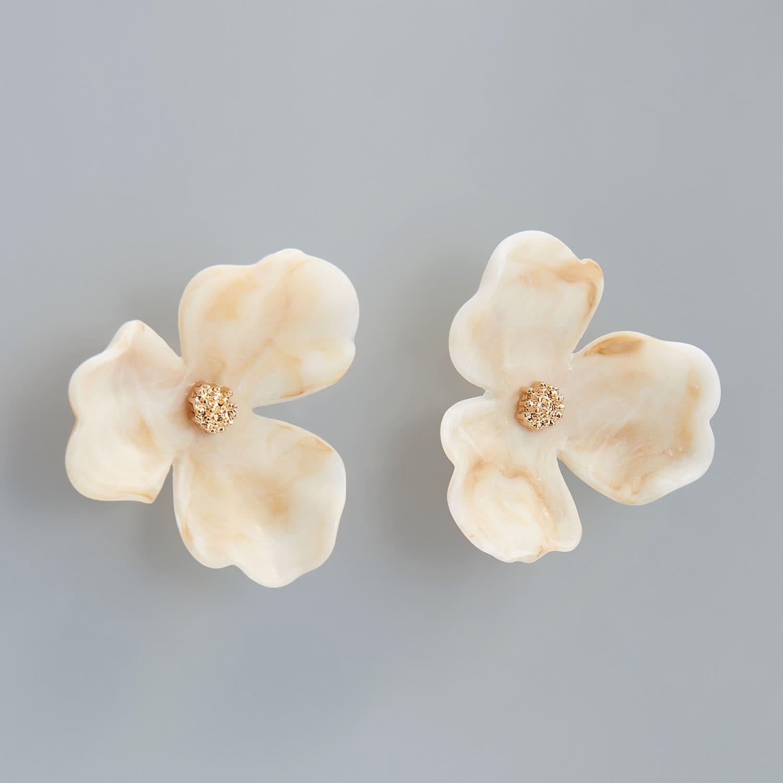 Reserved - Kvetinové napichovačky - Krémová
