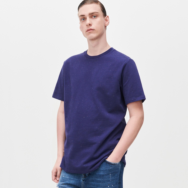 Reserved - Melanžové tričko - Tmavomodrá