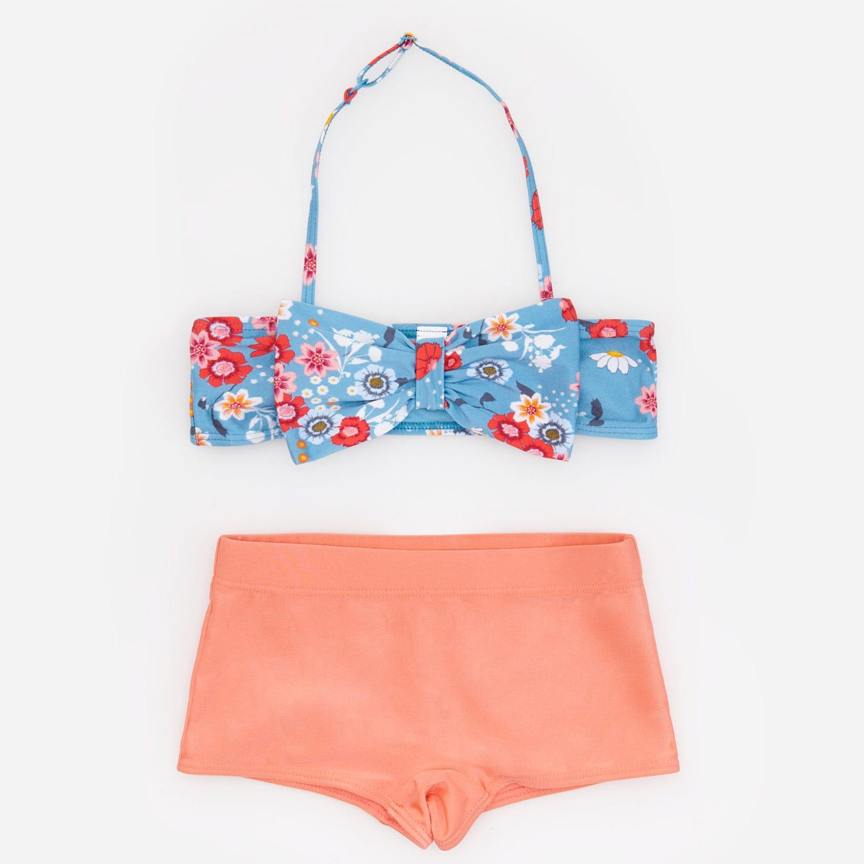 Dwuczęściowy strój kąpielowy z kokardą – Różowy Reserved XZ573-42X