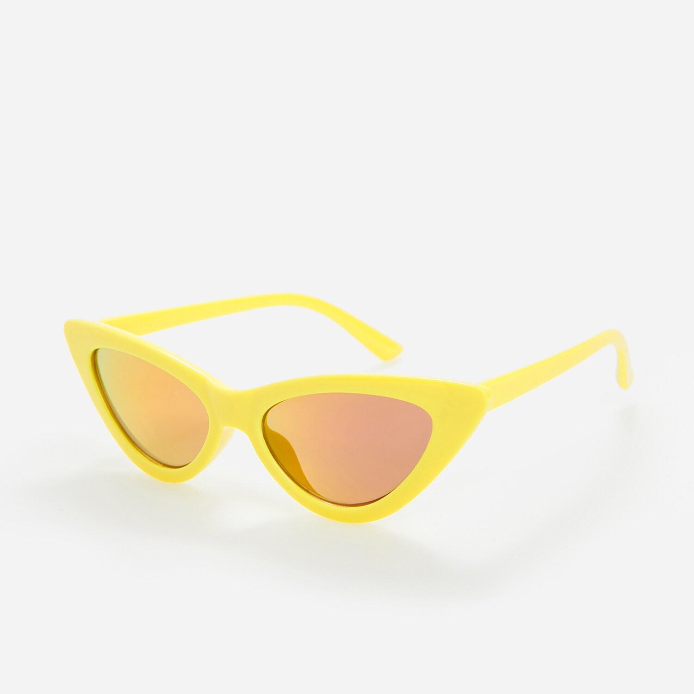Reserved - Sluneční brýle se žlutými obroučkami - Žlutá