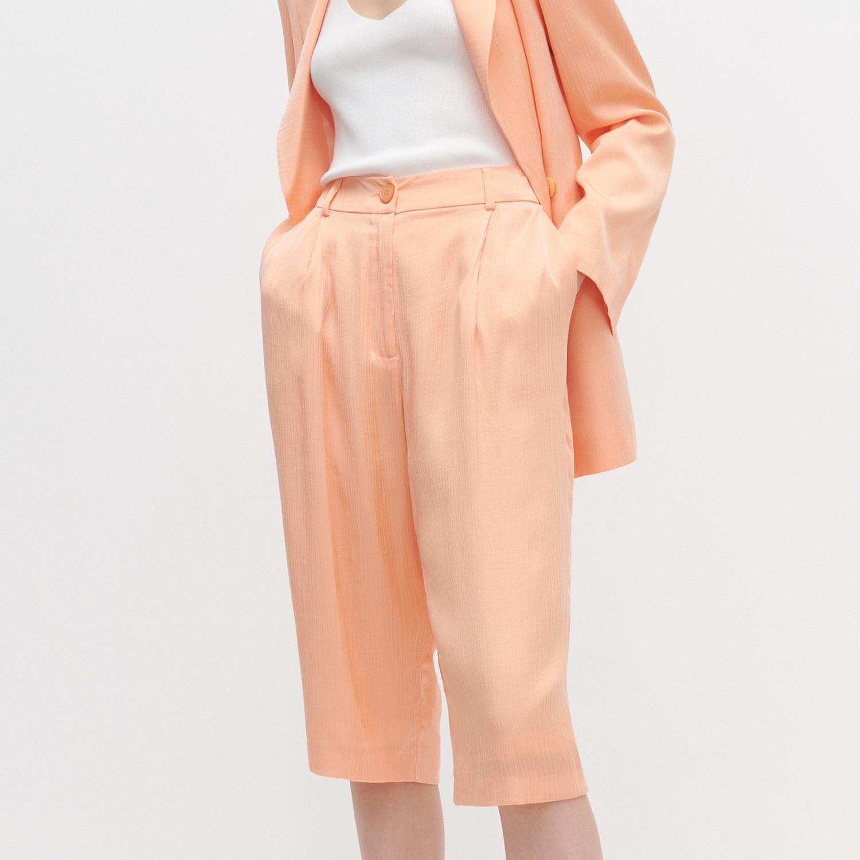 Szorty za kolano – Pomarańczowy Reserved ZO652-20X