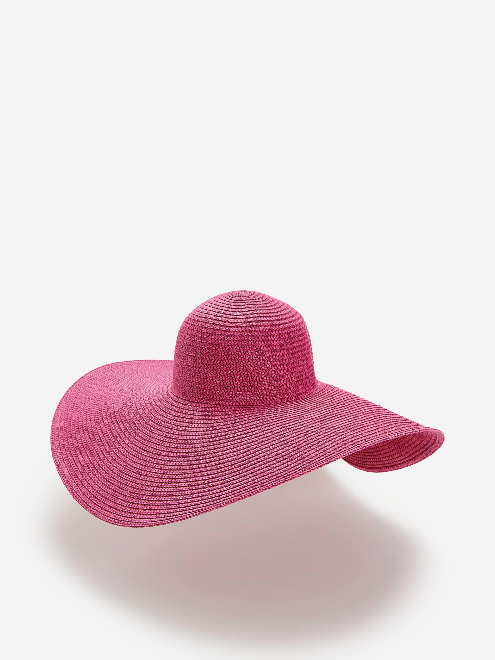 Pleteni šešir širokog oboda - ružičasta - ZW276-42X - RESERVED - 1