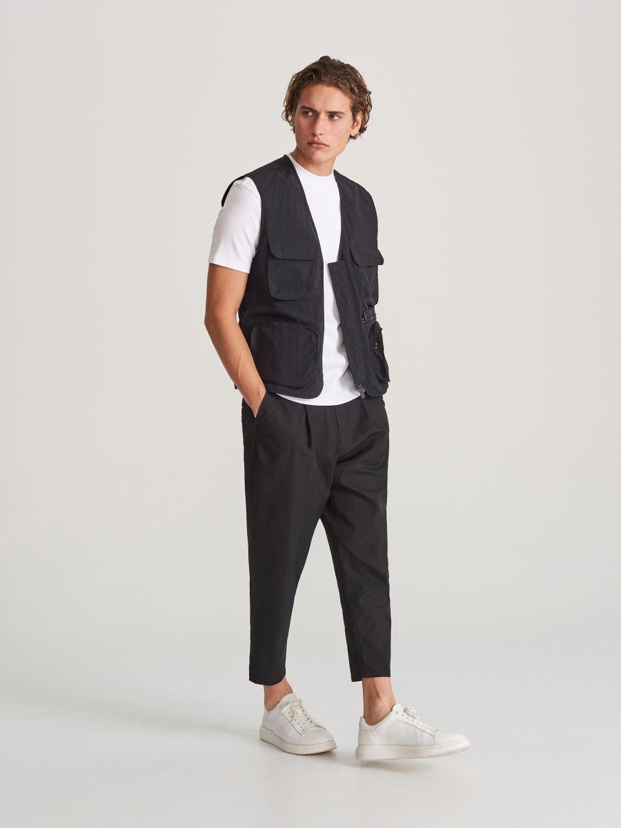 magazin din Marea Britanie drăguţ magazin online Cumpără astăzi online! Pantaloni carrot fit, RESERVED, WK333-99X