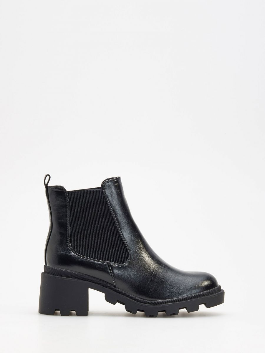Buy online! Thick sole ankle boots