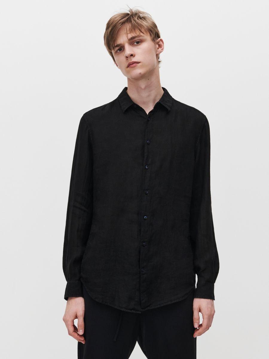 Lniana koszula, RESERVED, XI996 99X  ZFeDf
