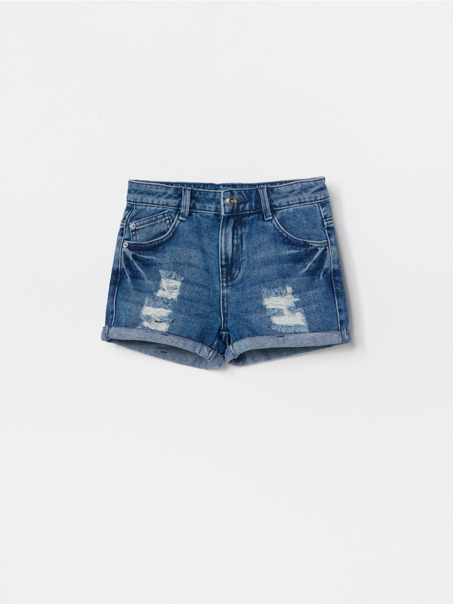 pantaloni scurți de denim