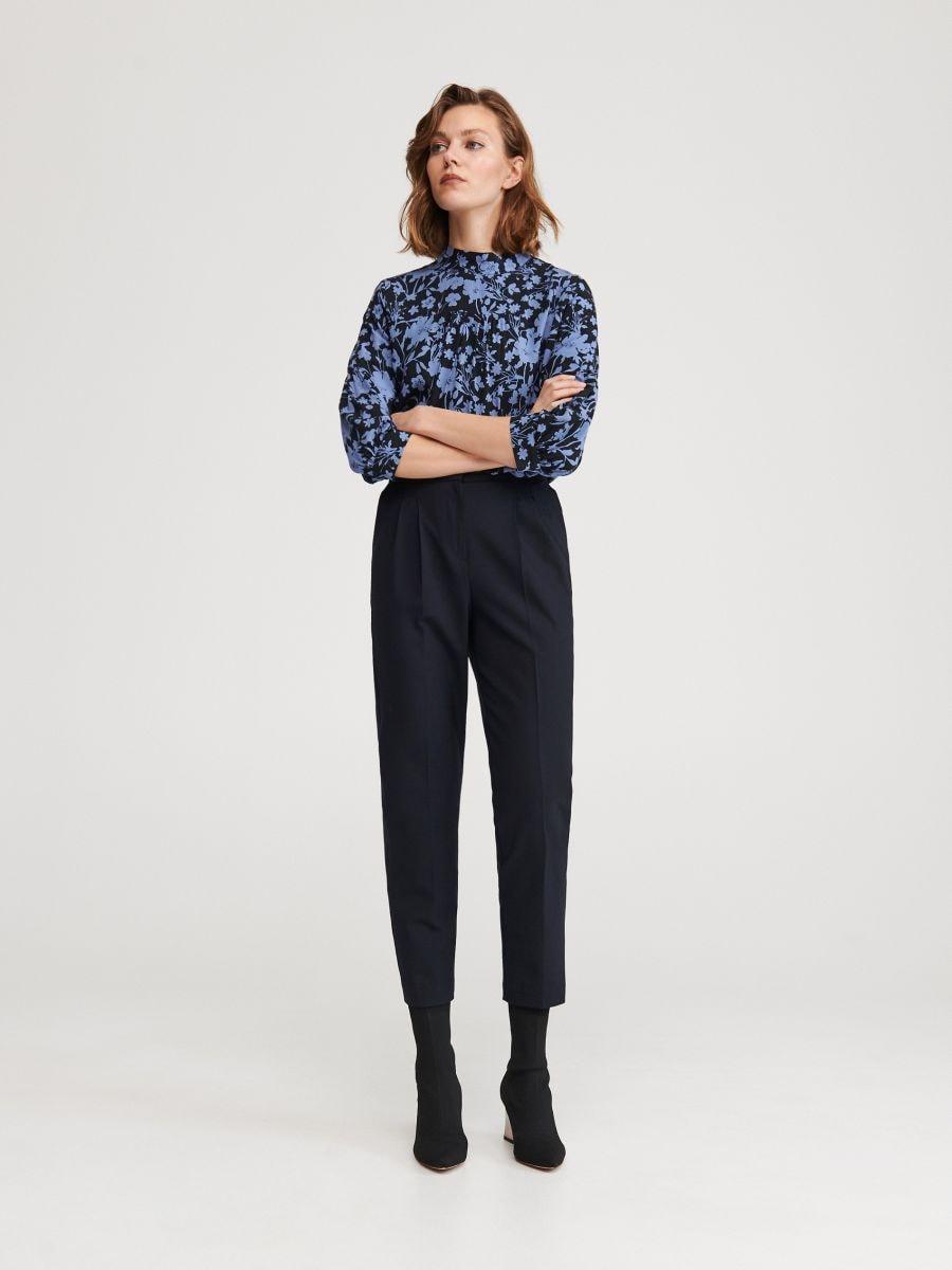 Eleganckie spodnie z wełną, RESERVED, YM333 59X