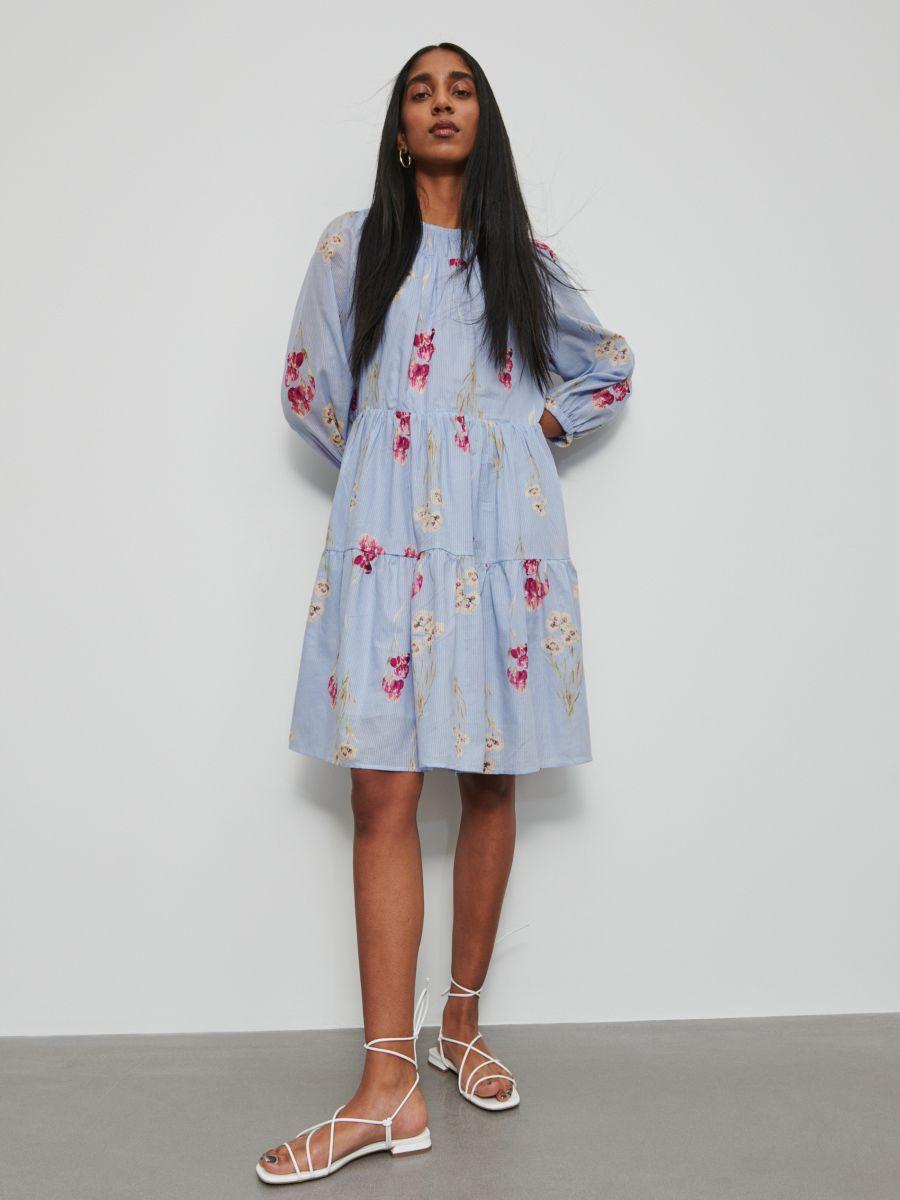 Bawełniana sukienka, RESERVED, ZV788 MLC