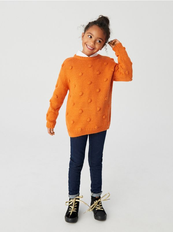 Buy online! Girls` sweater , RESERVED, WE037 80X