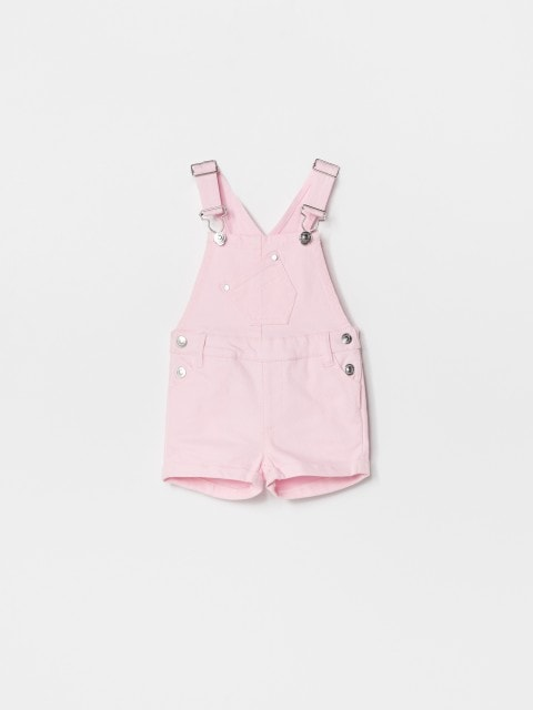 Dungaree shorts